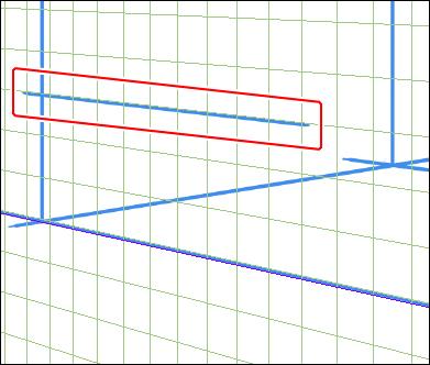 机の天板の線を描く