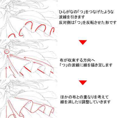 4下描き ぱるたるのパターンブラシの応用 メイキングfeat