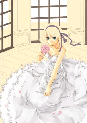 5ドレスと髪の着色 弓槻みあの透き通った布の表現 メイキングfeat
