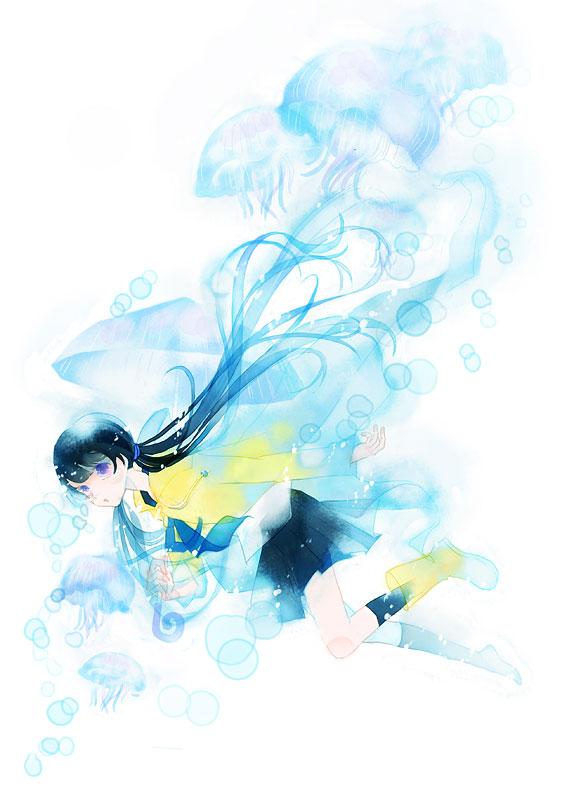 ヨシツギの水彩ブラシで描く透明感のある絵 メイキングfeat