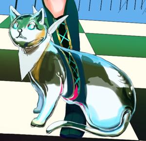 13ガラスの猫 藤ちょこが鮮やかな色彩で描くガラスと宇宙の空間