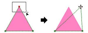 直線の角を修正